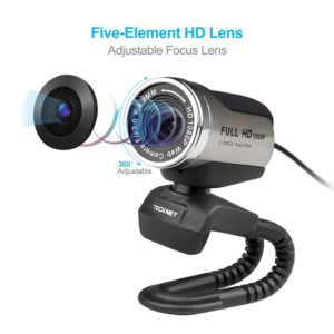 TeckNet® C018 Full HD 1080p Pro Webcam
