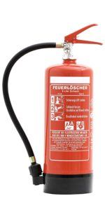 Andris Feuerlöscher 6 Liter Schaum