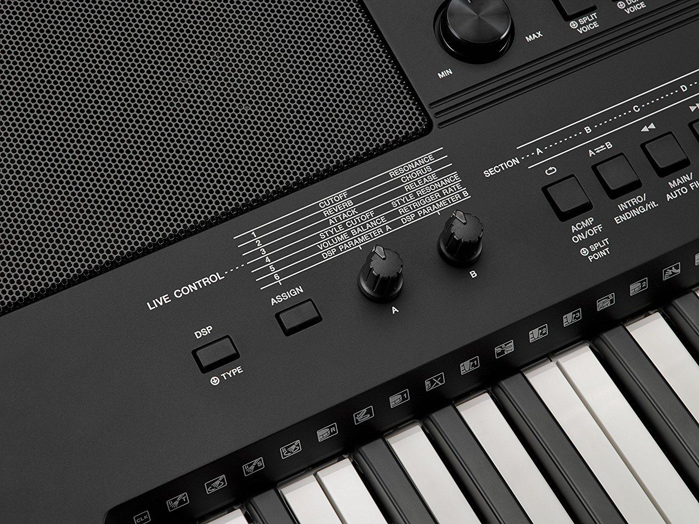Aufbau Kühlschrank Yamaha : Yamaha psr e keyboard im test expertentesten