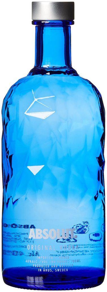 Absolut Vodka FACET Limited Edition Blue 1 X 0.7 L