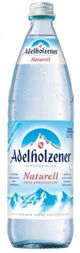 Adelholzener Naturell 075 L Glas
