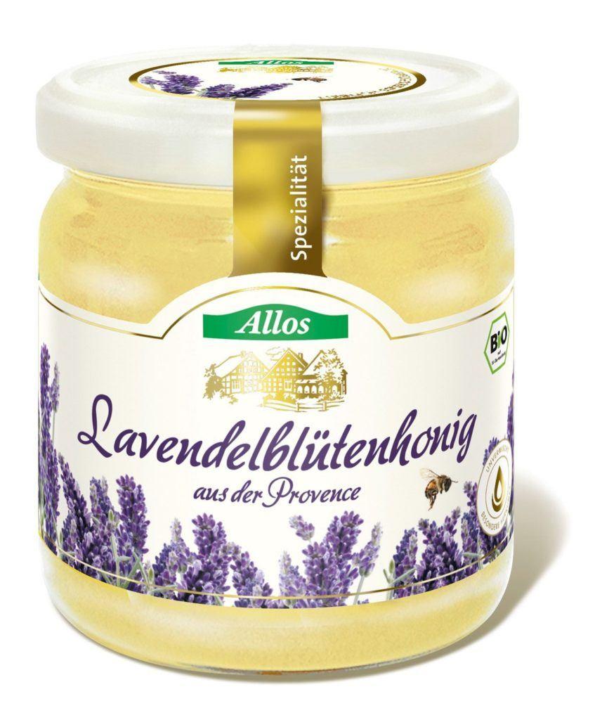 Allos Bio Lavendelhonig F 500 G