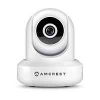 Amcrest IPM-721W HD 720P WiFi-Kamera, Videoüberwachung IP-Kamera, Pan / Tilt, Zweiwege -Audio, einfache Einstellungen, die Aufnahme auf optionalen Wolke visulizzazione Super-Weitwinkel von 85 ° und Nachtsicht (weiß).