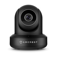 Amcrest ProHD IP2M-841B 1080P WLAN IP Überwachungskamera (mit Pan / Tilt, Audiofunktion, Cloud Vernindung, 90° Betrachtungswinkel und Nachtsicht) Schwarz