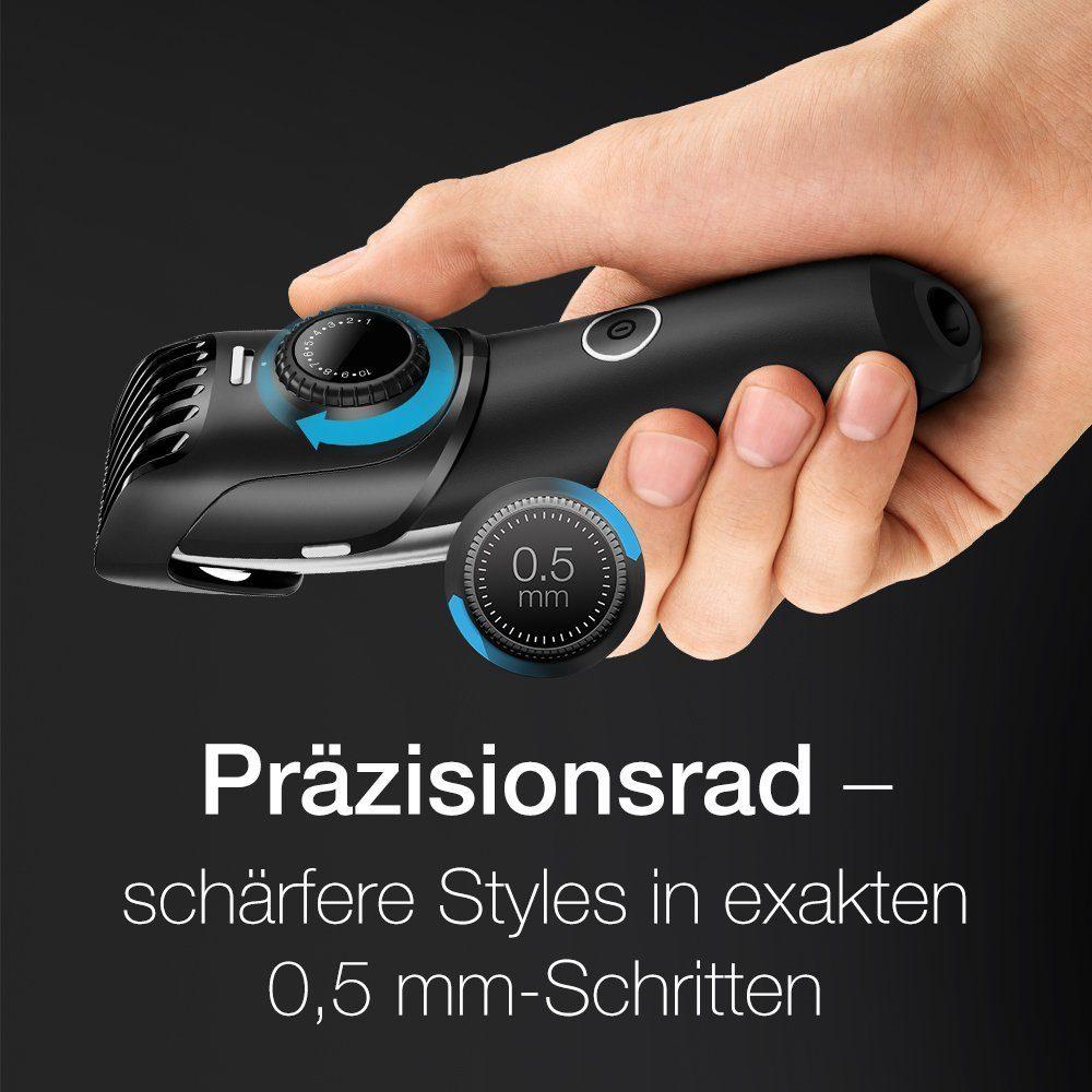 Braun Bartschneider Und Trimmer BT5090 Silber Inkl. Pr%C3%A4zisionstrimmer Ladestation Und Etui.
