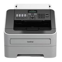 Brother FAX-2840 Laser-Faxgerät grau/weiß