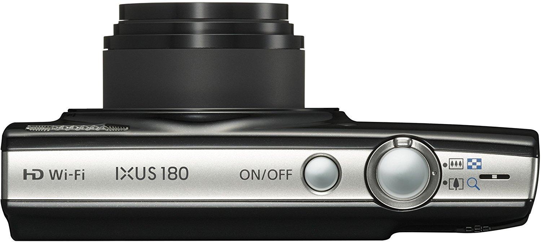 Canon IXUS 180 IS Taschenformat Schwarz