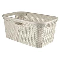 Curver 00708-885-00 Wäschebox Style, 45 L, creme