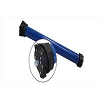 ER-Rohrmotor, mechanisch einstellbare Endlagen, 40 Nm mit Adapter für Welle SW60 max. Last 90 kg
