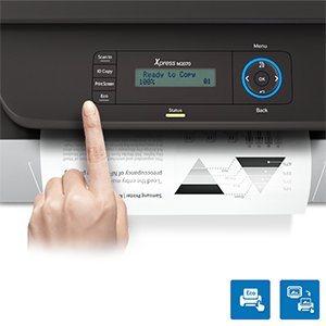 Einfache Handhabung Samsung Laserdrucker