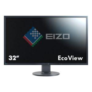 Eizo EV3237-BK 80 cm (31,5 Zoll 4K UHD) Monitor (DVI-D, HDMI, DisplayPort, 5ms Reaktionszeit, Auflösung 3840 x 2160) schwarz