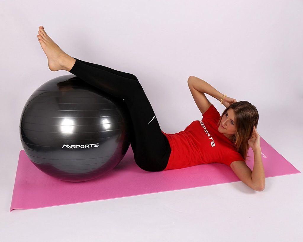 Gymnastikball Inkl. Pumpe 55 Cm 105 Cm Sitzball Fitnessball Inkl. %C3%9Cbungsposter Medizinball.