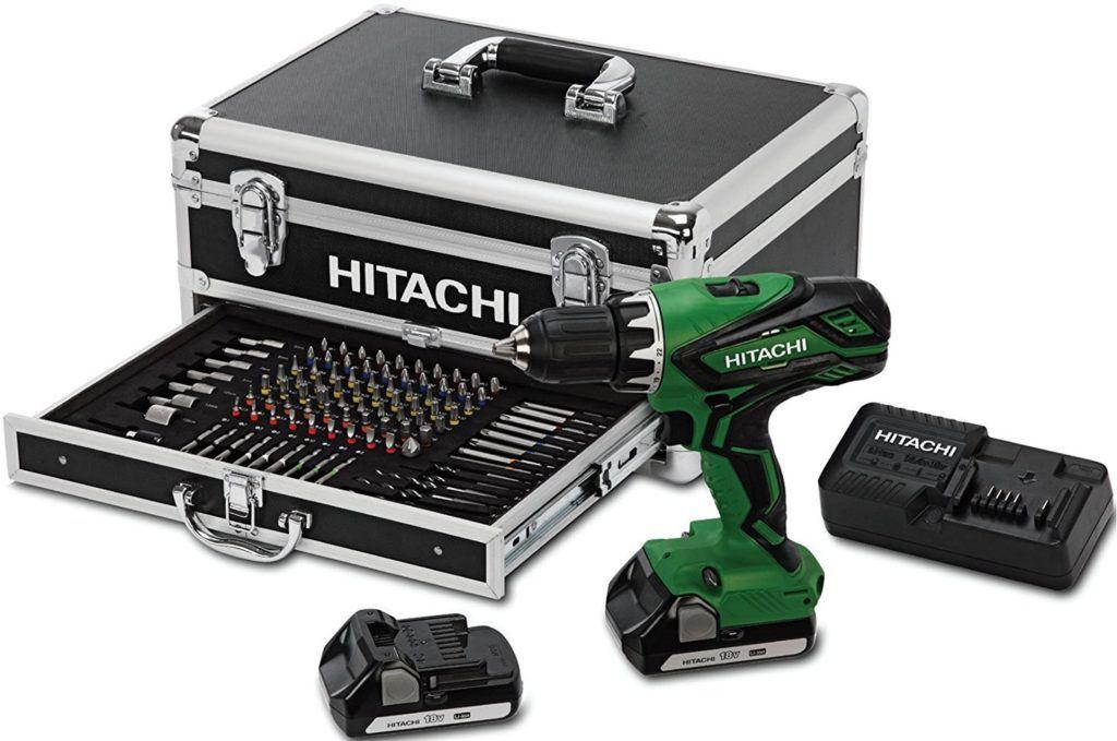 Akkuschlagschrauber Hitachi mit Koffer Set