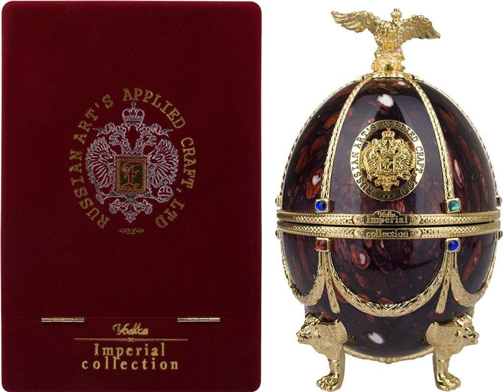Imperial Collection Vodka Faberg%C3%A9 Ei Rubin GB 40 Vol. 07 L