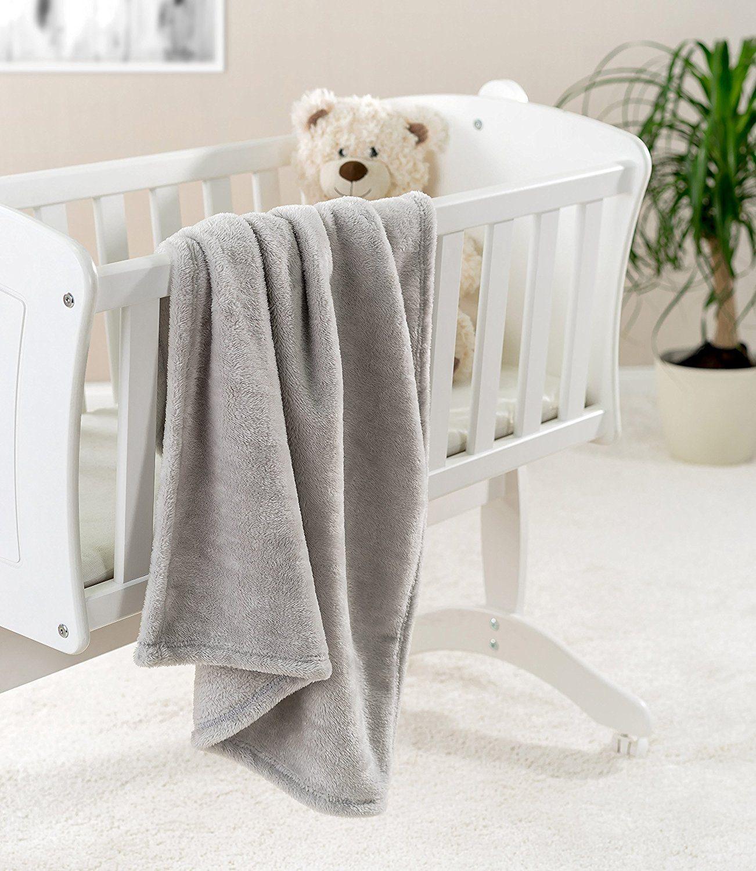 Jacky Kuscheldecke, Babydecke, Fleece - Baby Decke Test