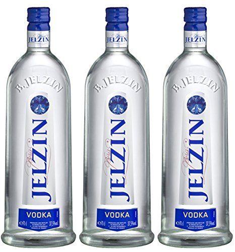 Jelzin Vodka 3 X 0.7 L