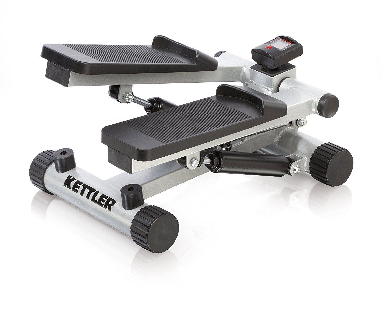Kettler Mini Stepper mit Trainingscomputer weiß