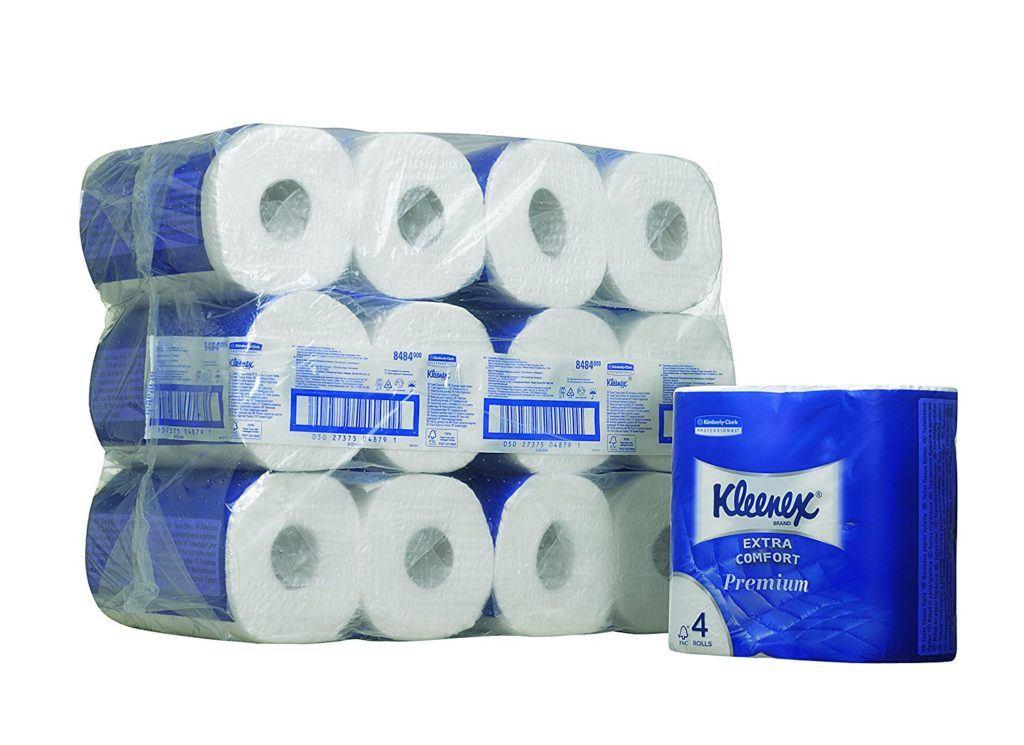 Kleenex 8484 Toilettenpapierrollen Klein 160 Blatt Pro Karton 6 Er Pack
