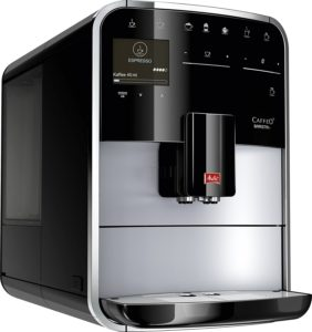 Frontansicht vom Melitta Caffeo Barista T Premium F 73-1-101 Kaffeevollautomat