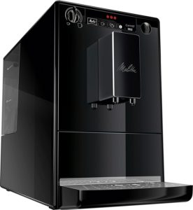 Frontansicht vom Melitta E 950-222 Kaffeevollautomat