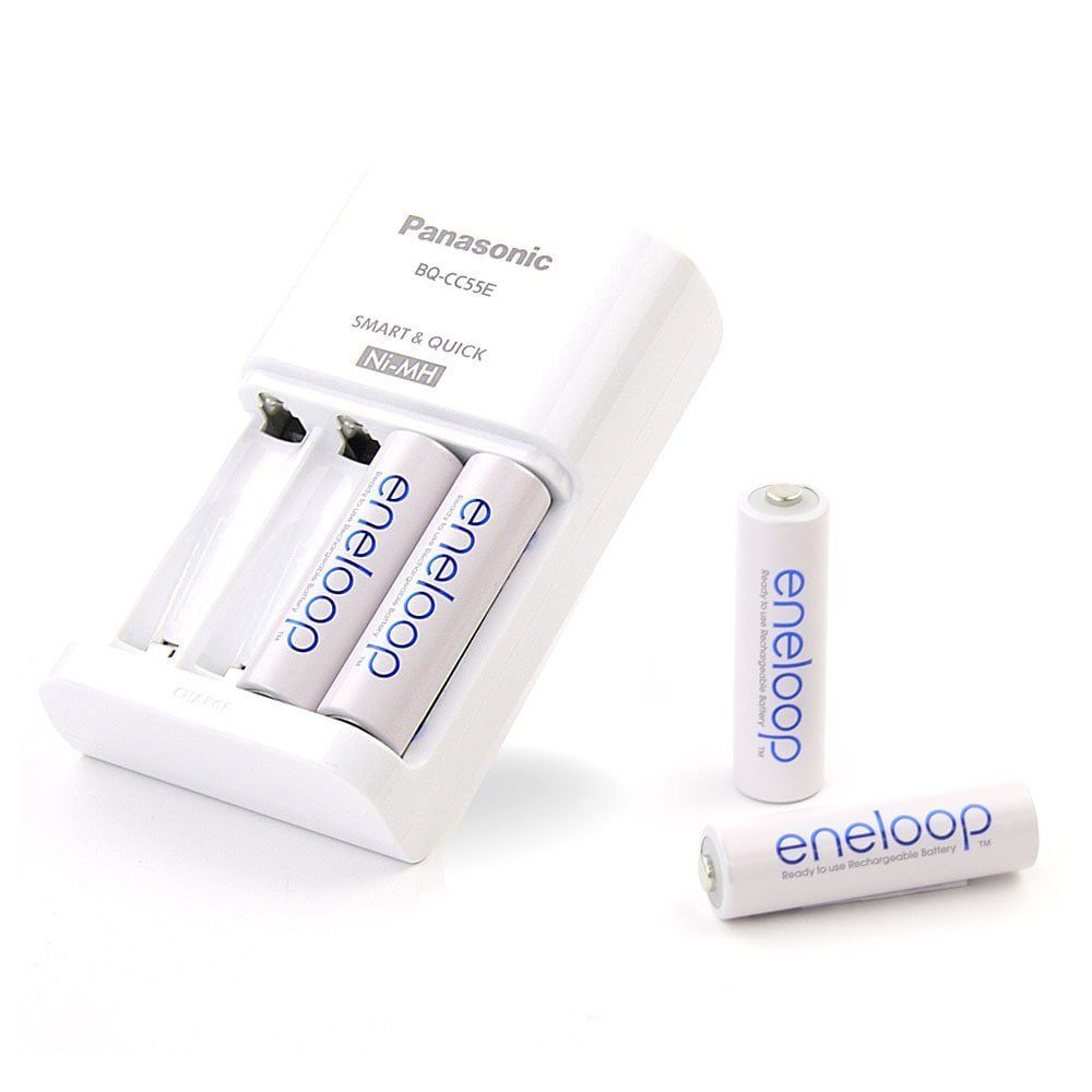 Panasonic Basic Ladeger%C3%A4t BQ CC18 F%C3%BCr 2 Oder 4 Ladbare Akkus