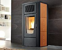 Pelletofen red Margherita AIR (8 kW) Keramik Moka
