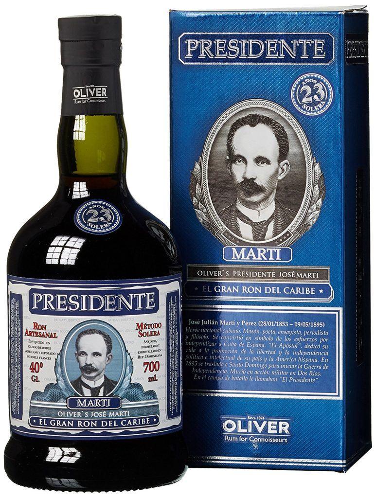 Presidente Rum 23 Jahre 1 X 0.7 L