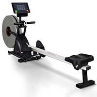 Rudergeräte Sportstech RSX500* RSX600 mit Smartphone steuerbar - Pulsgurt im Wert von 39,90 € inkl. - Fitness App - 16 Programme - Luft & Magnetwiderstand - Wettkampfmodus - klappbar