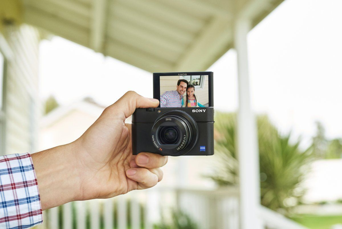 Best Compact Camera For Travel >> Sony DSC-RX100 IV Kompaktkamera