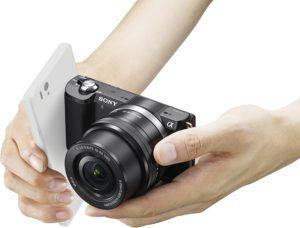 Sony Alpha 5000 Systemkamera (Full HD, 20 Megapixel, Exmor APS-C HD CMOS Sensor