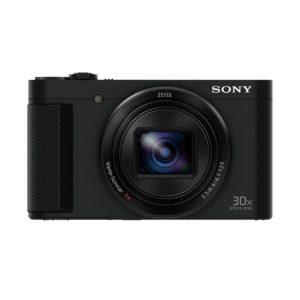 Sony DSC-HX90 Kompaktkamera (30x opt. Zoom, 60x Klarbild-Zoom, 7,5 cm (3 Zoll) Display, Weitwinkelobjektiv, NFC, WiFi Funktion, Superior iAuto Modus, 5-Achsen Bildstabilisator, Full HD Video) schwarz