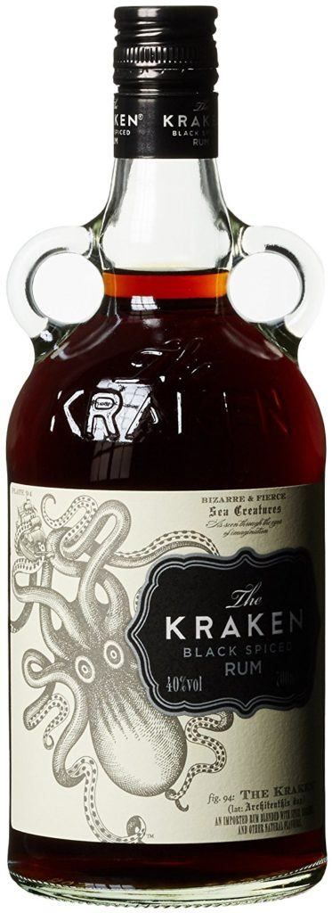 The Kraken Black Spiced Rum 1 X 0.7 L