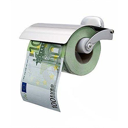 Toilettenpapier 100 Euro Schein