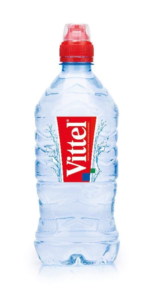 Vittel DPG Wasser Pet Sportflasche 6er Pack 6 X 750 Ml