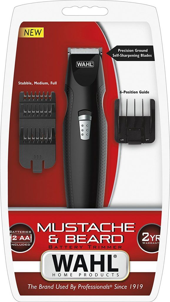 Wahl 5606 508 Batteriebetriebener Schnurrbart Und Barttrimmer
