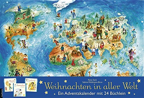 Weihnachten In Aller WeltAdventskalender Mit 24 B%C3%BCchern