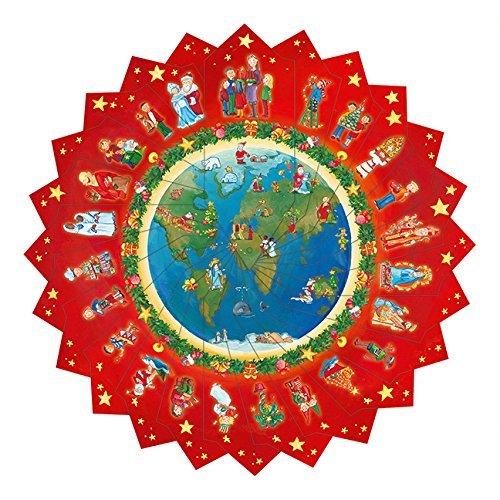 Weihnachtliche Reise Um Die Welt.Bastel Adventskalender