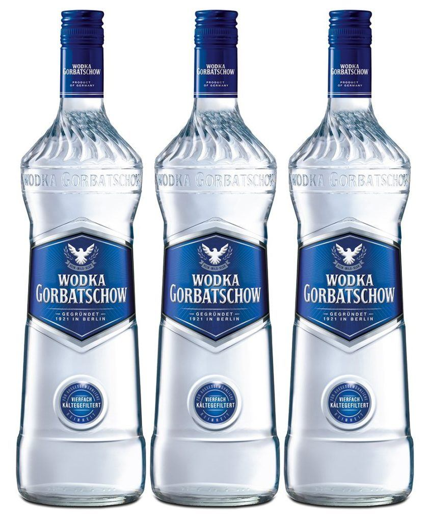Wodka Gorbatschow 3 X 0.7 L