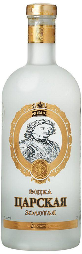 Zarskaya Gold Vodka 1 X 1 L