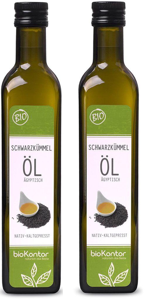 BioKontor BIO Schwarzk%C3%BCmmel%C3%B6l %C3%A4gyptisch Nativ Kaltgepresst 100 Rein 1000 Ml