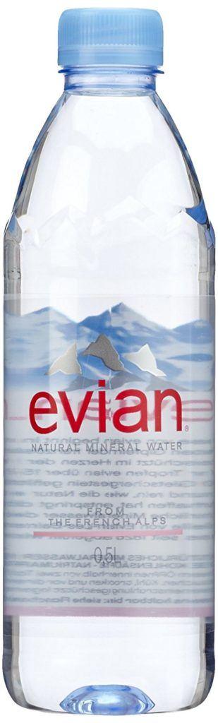 Evian Mineralwasser 24er Pack 24 X 500 Ml