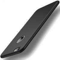 Hülle für iPhone 6 6S, FayTun Handyhülle für iPhone 6 6S-Ultra Dünn Soft Silikon Schutzhülle- Schutz vor Fingerabdruck,Staub und Scratch- Stoßfest FeinMatt TPU Case für iPhone 6 6S 4.7 Zoll Schwarz