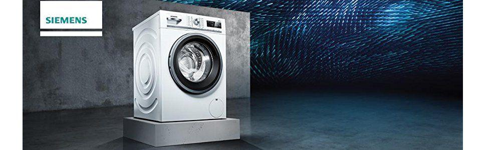 iSensoric Waschmaschine mit iQdrive-Motor für besonders wirkungsvolle und effiziente Wäschepflege.