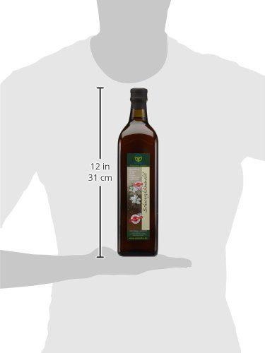 Manako Schwarzk%C3%BCmmel%C3%B6l Human Kaltgepresst 100 Rein 1000 Ml Glasflasche 1 X 1 L.