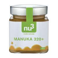 nu3 natürlicher Manuka Honig MGO 320+ aus Neuseeland, 250g