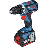 Bosch Professional 18V Akkuschrauber GSR 18V-60 C 2x 5,0 Ah Akku Schnellladegerät Bluetooth-Modul L-BOXX (18 Volt Max. Drehmoment: 60 Nm max. Schrauben-Ø: 10 mm Connectivity-Funktion)