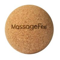 MassageFee Kork Massageball Faszienkugel
