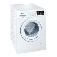 Siemens WM14N060 iQ300 Waschmaschine FL / A+++ / 137 kWh/Jahr / 1400 UpM / 6 kg / Großes Display mit Endezeitvorwahl / weiß [Energieklasse A+++]