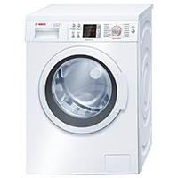 Bosch WAQ28422 Serie 6 Waschmaschine FL / A+++ / 139 kWh/Jahr / 1400 UpM / 7 kg / Weiß / 9240 L/Jahr / 3D-AquaSpar-System [Energieklasse A+++]