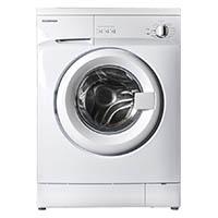 Techwood WB91042Y Waschmaschine FL / 44 cm / A+ / 1000 UpM / 5 kg / 167 kWh/Jahr / 9240 Liter/Jahr / Türöffnung / weiß [Energieklasse A+]
